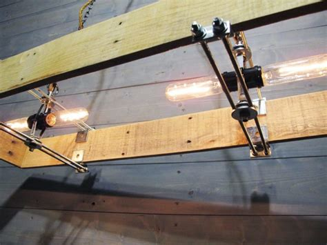 rectangular wood chandelier   recycled pallet id