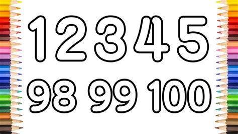 draw number    learn  count numbers