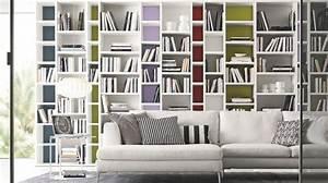 Bibliothèque Murale Design : armoire bibliotheque design ~ Teatrodelosmanantiales.com Idées de Décoration
