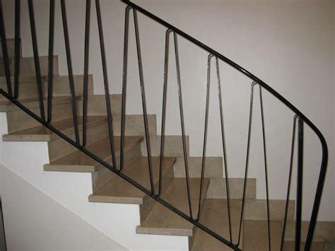 spare  elegant  stair rail  paris apartment