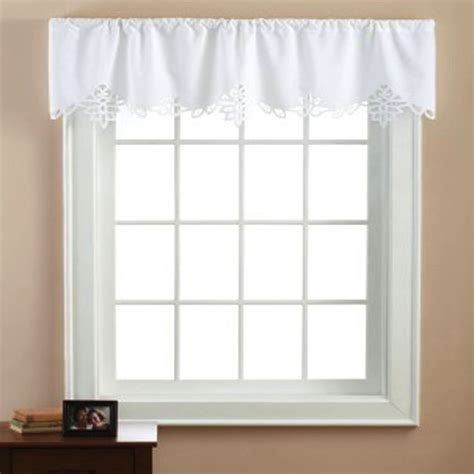 battenburg lace curtains walmart mainstays battenburg white lace window valance walmart