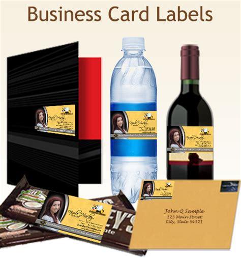 printer bees business card label printing