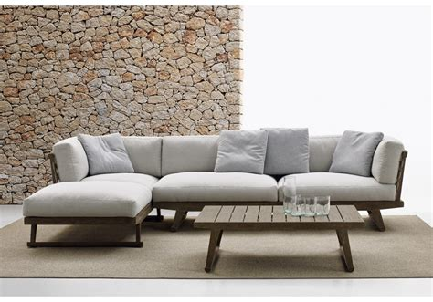 canapé chaise longue gio b b italia sofa outdoor milia shop