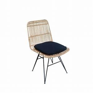 Chaise Rotin Gris : chaise design en rotin uyuni drawer ~ Teatrodelosmanantiales.com Idées de Décoration