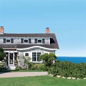 Cape Cod Cottage Facade - 20 Beautiful Beach Cottages