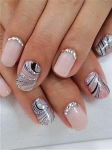 Unghie gel e nail art per la sposa (50 foto idee)