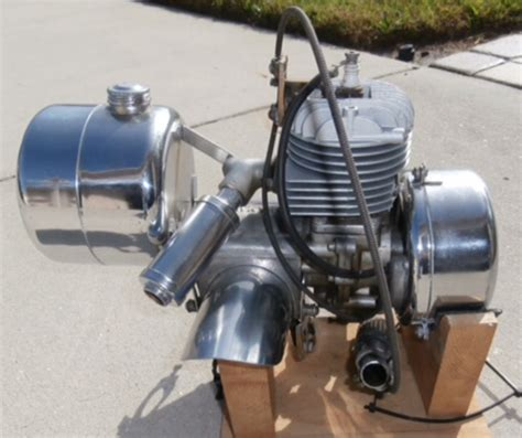 TRAVIS chrome bike motor   The Classic and Antique Bicycle ...