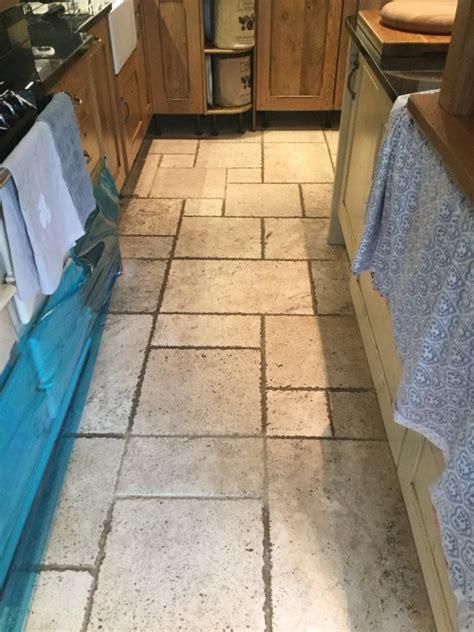 travertine tile kitchen floor tile cleaning cleaning a small travertine tiled 6361