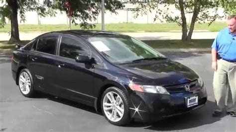 Used Civic Si by Used 2008 Honda Civic Si For Sale At Honda Cars Of