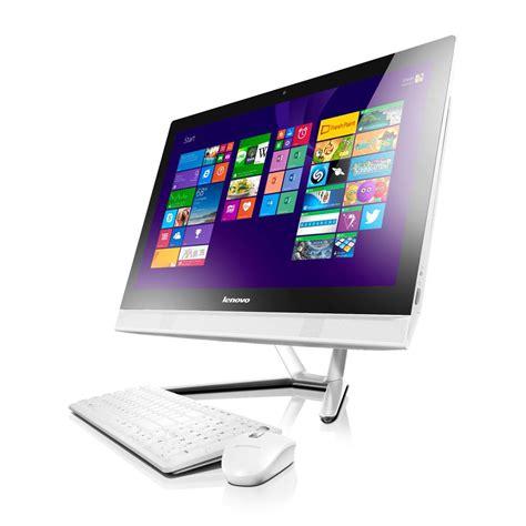 lenovo ordinateur tout en un lenovo tout en un c40 30 blanc ecran 21 5 quot hd top