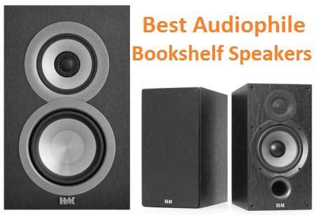top   audiophile bookshelf speakers