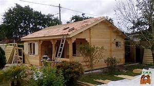 Chalet En Bois Habitable Livré Monté : chalet de loisir ou d 39 habitation bordeaux 42 m2 sans rt2012 ~ Dailycaller-alerts.com Idées de Décoration