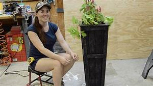 DIY Planter Box - Take Two ; ) - YouTube