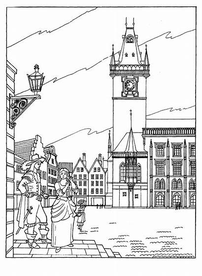Coloring Town Hall
