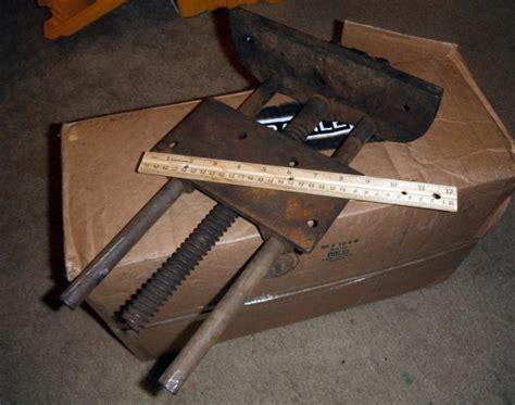 vintage woodworking vise woodworking talk woodworkers