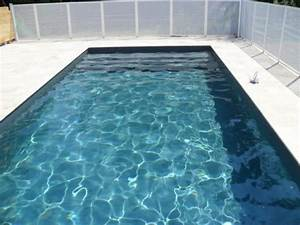 awesome piscine liner gris anthracite 0 liner gris With liner noir pour piscine
