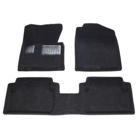 floor mats hyundai elantra findway 2011 2013 hyundai elantra sedan coupe 28180bb black 3d floor mats walmart ca