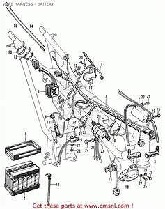Honda Cb175k0 Super Sport Wire Harness - Battery - Buy Wire Harness