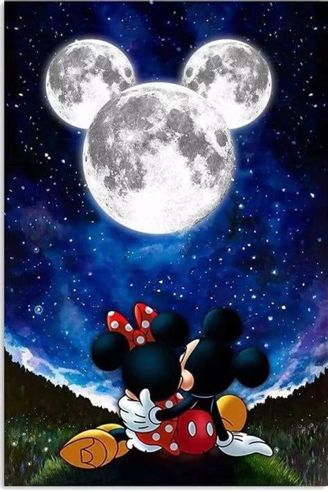 mickey shaped moon  mickey minnie  movies