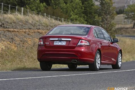 ford fg falcon ge specifications  caradvice