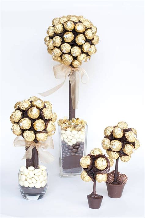 diy ferrero rocher tree personalised ferrero rocher 174 sweet tree ideas chocolate gifts sweet trees y gifts