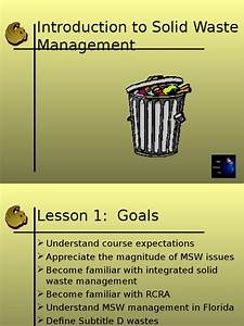 Introduction, To, Solid, Waste, Management