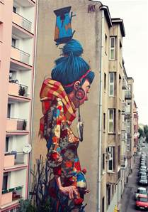 Graffiti Mural Artists by Etam Cru Brightens City Walls With Epic Colorful