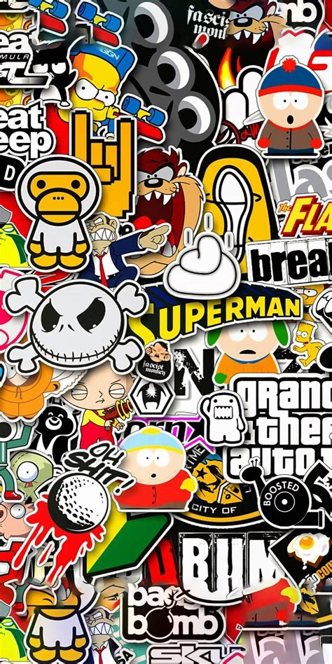 Maybe you would like to learn more about one of these? Hypebeast wallpaper, Sticker bomb wallpaper, Screen ...