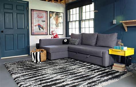 ikea friheten sofa      basement