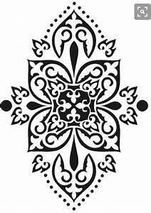 Schablone Wand Barock : wandschablonen schablone wandtattoo ornament rokoko pinterest wandschablonen ~ Bigdaddyawards.com Haus und Dekorationen