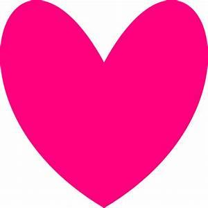 Hot Pink Heart Border Clip Art Vector Clip Art Online ...