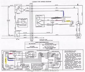 Central Ac Thermostat Wiring Diagram Nice Coleman Ac