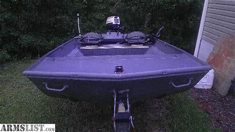 Wide 12 Foot Jon Boat by Armslist For Sale 16ft Wide Jon Boat