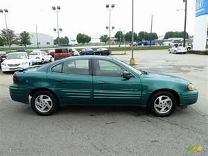1999 Manta Green Metallic Pontiac Grand Am Se Sedan  53982725 Photo  6