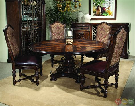 valencia antique style  table dining room set