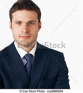 Stock of Young goodlooking businessman Portrait
