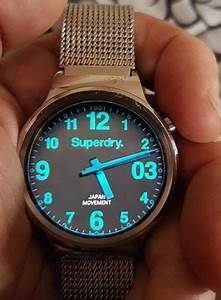 Superdry Slo Glow  U2013 Watchfaces For Smart Watches
