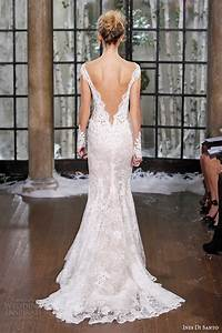 ines di santo fall winter 2015 wedding dresses couture With low cut back wedding dresses