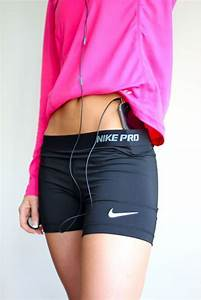 Nike Spandex and bright pink sweater. i want this!!! | Fit u0026 Fine. | Pinterest | Nike Spandex ...
