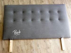 Fabriquer Une Tête De Lit : tete de lit on pinterest headboards nailhead headboard ~ Dode.kayakingforconservation.com Idées de Décoration