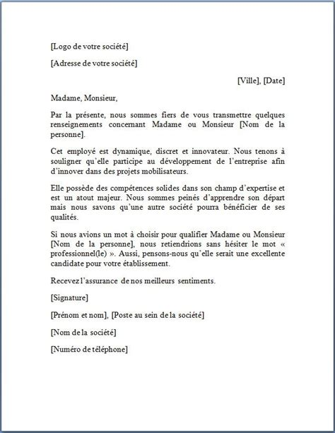 modèle lettre d intention exemple de lettre de pr 233 sentation modele lettre de