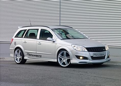opel astra h tuning opel astra h facelift by steinmetz news top speed