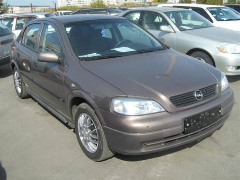 1998 Opel Astra Pictures, 1400cc., Gasoline, Ff, Manual