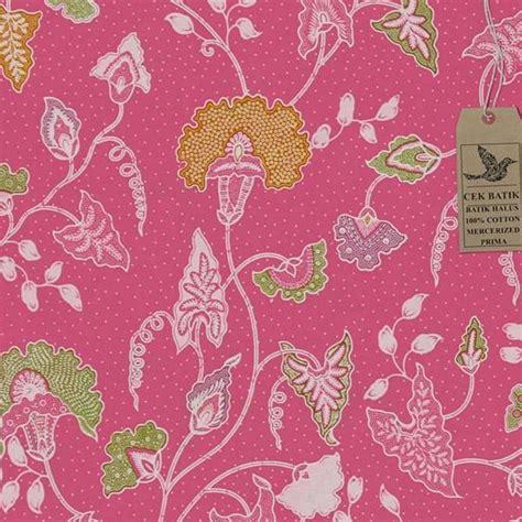motif batik daun  bunga contoh motif batik