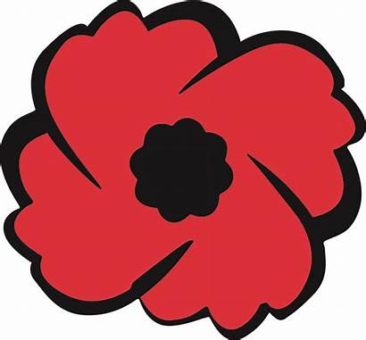 Poppy Clipart Canadian Clip Remembrance Legion Hdclipartall