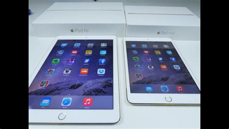 ipad air   ipad mini  speed test  comparison youtube
