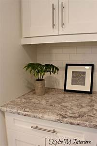 the new era of laminate countertops and why they rock With kitchen colors with white cabinets with rangement papier toilette