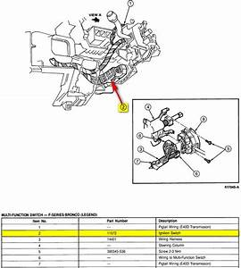 1991 F350  Im Trying To Replace The Ignition Switch