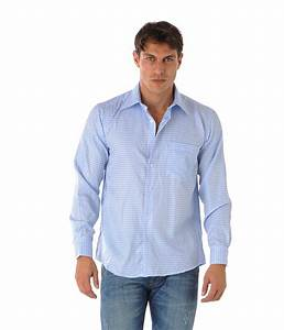 chemise homme jeanblue a carreaux bleu ciel choix et With chemise a carreaux bleu homme