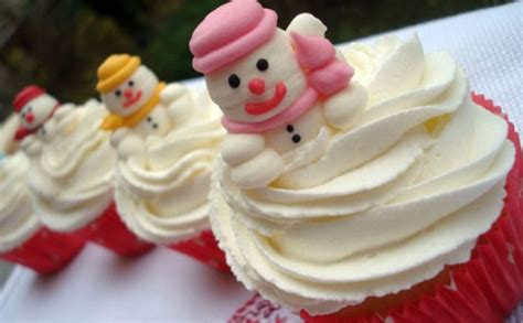 your christmas food pics alma o bregon s snowman cupcakes goodtoknow